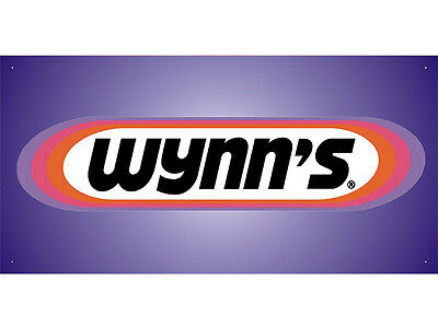 Advertising Display Banner for Wynn's Sales Service Parts