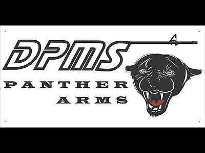 Advertising Display Banner for DPMS Panther Arms Dealer Gun Shop