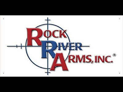 Advertising Display Banner for Rock river Arms Dealer Gun Shop