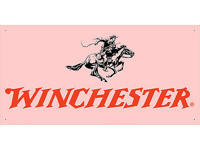 Advertising Display Banner for Winchester Dealer Arm Gun Shop