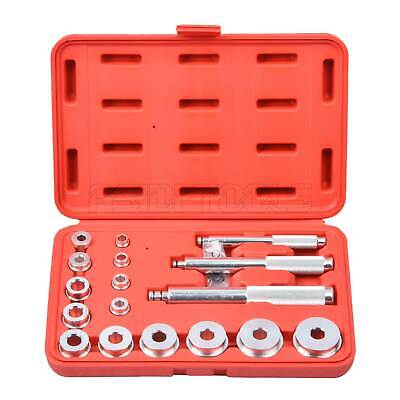 Bearing Race Seal Bush Driver Set/Tool/Kit Aluminium Mm 17pc