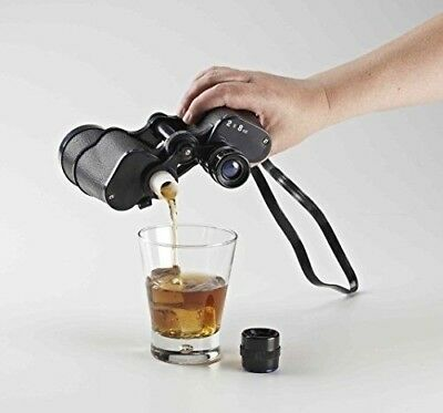 Hide Your Alcohol, The Sneaky Binocular Flask 500ml  *Brand New* Festival Flask