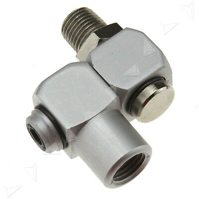 "1/4"" BSP Male And Female Air Hose Swivel 360 Degree Fitting Connector Air Tool"