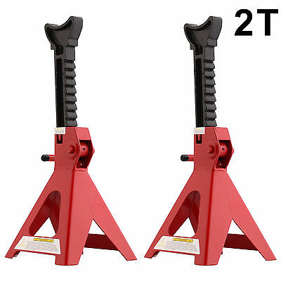 Heavy Duty Axle Stands 2 Tonne Lifting Capacity Per Stand 4 Ton Per Pair