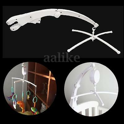 New Kids Baby Crib Mobile Bed Bell Rotary Arm Bracket Holder Nursery Accessory
