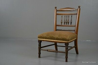 Antique Vintage Edwardian Nursing Occasional Chair