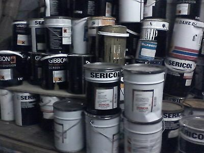 Screen Printing Ink 5lt can