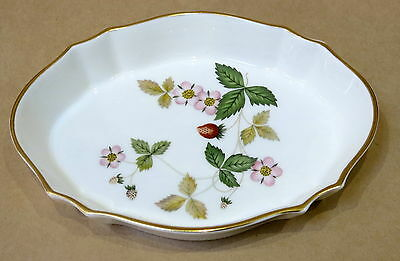Wedgwood Bone China Pin Dish Wild Strawberry New In Box