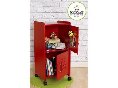 Kidkraft Medium Red Locker, kids storage