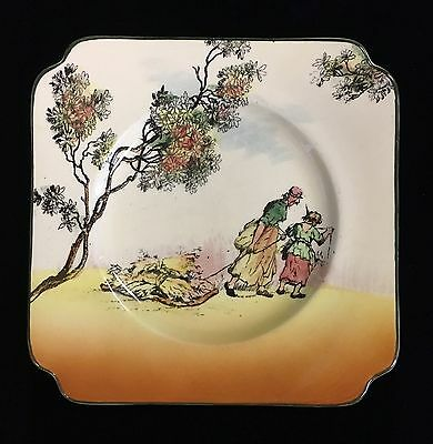 "Vintage Royal Doulton Old English Scenes Series Ware ""The Gleaners"" Plate"