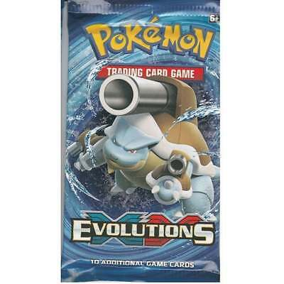 Pokémon XY-12 Evolutions Trading Card Game 1 Sealed Booster Pack