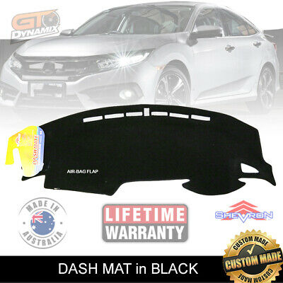 DASH MAT HONDA Civic 10th Generation JUN/2016-ON VTi VTi-S VTi-L RS DM1437 BLACK