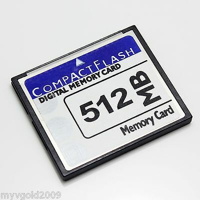 New 512MB CompactFlash CF Card,  CF Memory Card new 512MB OEM