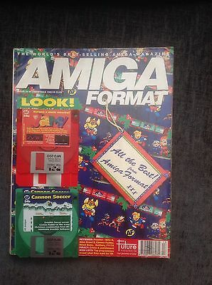 Amiga Format - Issue 54 - Christmas 1993 - 2 Disc - Complete