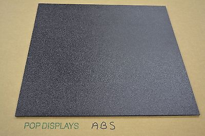"ABS  PLASTIC SHEET BLACK 1/4"" x 48"" x 8"""