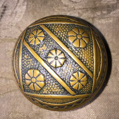 1 Antique Cast Bronze Victorian Doorknob - Door Knobs - F C Linde  #2 • CAD $38.09
