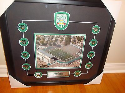 Saskatchewan Roughriders Farewell Season Collector Photo Pin Set Rare 1 Of 25