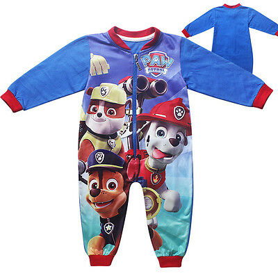 Girls/Boys Paw Patrol Rompers Autumn Cotton Clothing Bodysuits Outfits 1-5Years