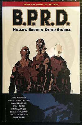 BPRD Volume 1 Hollow Earth & Other Stories TPB Dark Horse Comics 9781593072803