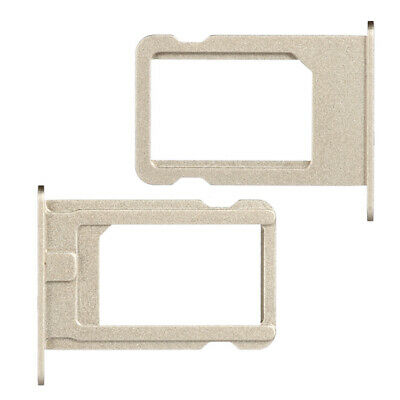 Replacement SIM Card Tray Holder For Apple iPhone SE Champagne / Gold