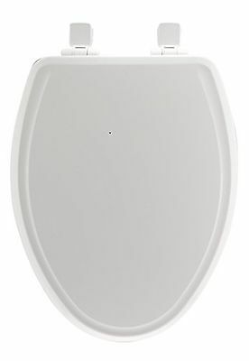 Mayfair 148SLOWA 000 Slow-Close Molded Wood Toilet Seat featuring Whisper-Close