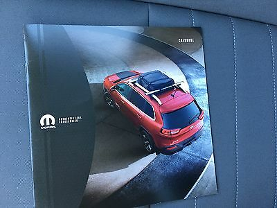 2016 Jeep Cherokee Accessories 16-page Original Sales Brochure