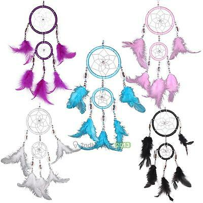 Novel Fashion Dream Catcher With Feathers for Home Wall Car Hanging Decor Gifts