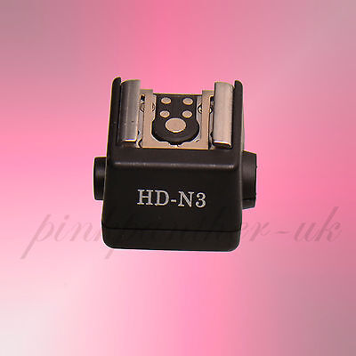 Flash Hot Shoe Adapter for any flashgun to Sony A Alpha Minolta camera FS-1100