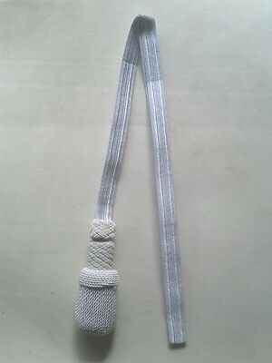 German Officer Sword Knot White Army Sword Knot Sword Knot Silk