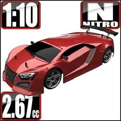 Redcat Racing Lightning STR 1/10 Scale Nitro Road Car Red 2 Speed 1:10 rc car