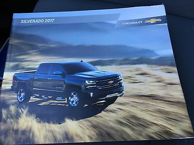 2017 Chevy SILVERADO 52-page Original Sales Brochure