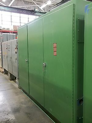 "Steel Floor Mounted Electrical Enclosure 112""H x 16""W x 94""D (ENC2324)"