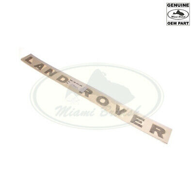 "Land Rover Hood Decal Sticker ""land Rover"" For Discovery 2 Ii Dag100370Lqq Oem"