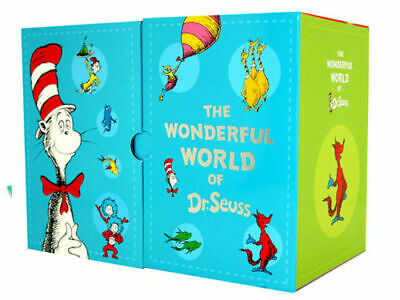 The Wonderful World of Dr. Seuss 20 Books Box Hard Cover Kids Gift Set Pack New