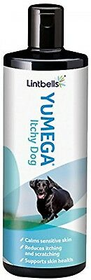 Lintbells YuMEGA Itchy Dog Supplement For Dogs+Itchy Or Sensitive Skin(500ml)