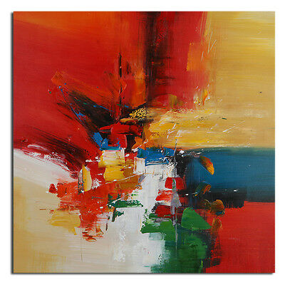 Abstract Scenery Oil Painting Modern On Canvas Wall Art Decor Handpainted Framed