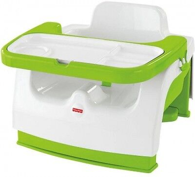 Fisher-Price Grow-with-Me Portable Booster Portable Booster For Mealtime at Home