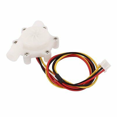 "Electronic Water Flow Counter Sensor 0.1L/mim-4.5 L/min G1/4"" LW"