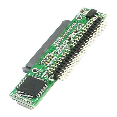 """7+15 Pin SATA SSD HDD Female to 2.5"""" 44Pin IDE Male Adapter for Laptop LW"""