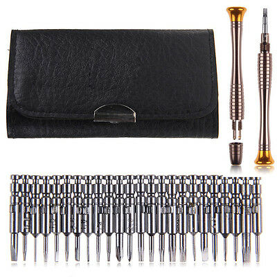 25 in 1 Torx Screwdriver Wallet Repair Tool Set For Phone Cellphone PC Laptop