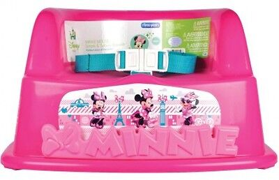 The First Years Disney Baby Minnie Mouse Booster Seat Standard Chair Portable