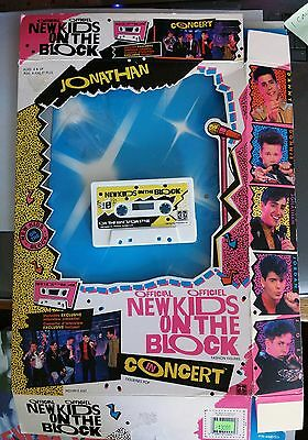 CONCERT JONATHAN KNIGHT- BOX and CASSETTE ONLY! NKOTB New Kids