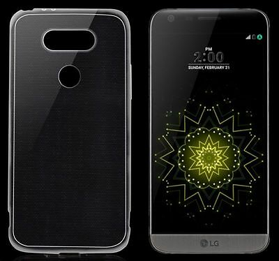 Slim Clear Crystal Transparent Soft TPU Silicone Case Cover For LG G4 G3 G5 V10
