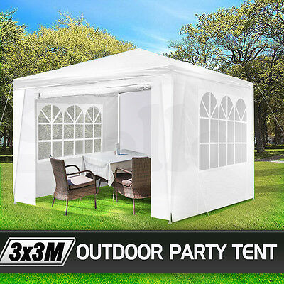 NEW 3x3 GAZEBO PARTY TENT EVENT MARQUEE AWNING OUTDOOR PAVILION CANOPY
