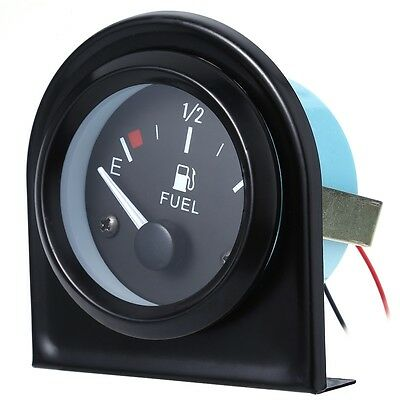 "New B743 52mm 2"" Universal Car Fuel Gauge Meter & Fuel Sensor E-1 / 2-F Pointer"