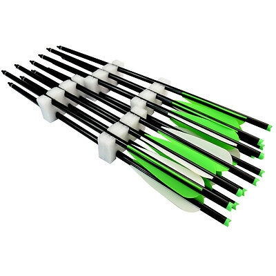 Wholesale 50 pcs 18 inch Archery Aluminum Arrow 2219# for Crossbow Bolts Hunting