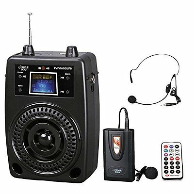 OpenBox Pyle-Pro PWMA80UFM 100 W Portable PA System With Included Wireless FM