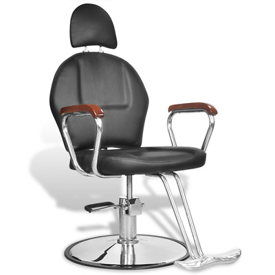 # Salon Cutting Hairdressing Chair Gas Lift Barber Furniture PU Leather Head Res