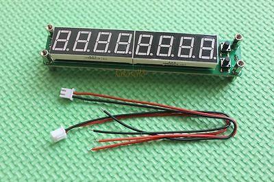 Blue RF Signal Frequency Counter Cymometer Tester 0.1-60MHz 20MHz ~ 2400MHZ