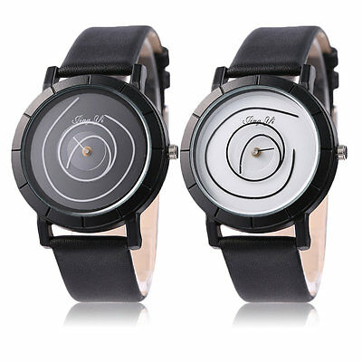2016 Fashionable Unique Simpel Style Colorful Ring Leather Strap Unisex Watch GT